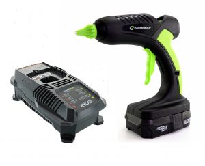 HG-5 Pro2-60 60 Watt Battery Operated Glue Gun With Battery and Charger