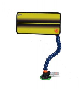 PC-21 Yellow Single Line Reflector Board, Stand and Suction Cup