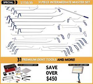 Special #3 31 Piece Intermediate PDR Tool Set