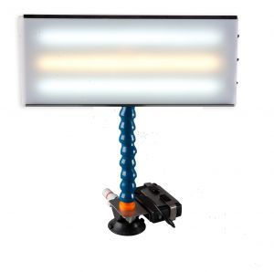 """PC LED 141 - 18"""" Portable LED Light with Battery, Charger, Battery Holder, and 12V Plug Cord"""