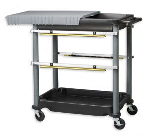 CT-4  Shop Cart with top tray cover