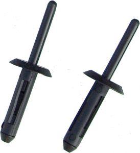 Long Plastic Rivets - 6.3mm For Slimline Plastic Riveter 50 Pack DF-CT887RL