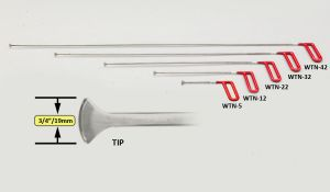 "WTN-Mini Whale Tail Set - 3/4"""