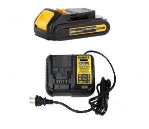 PC LED 216 Dewalt 20V Battery 1.3Ah and Dewalt 20V Charger