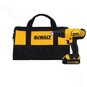PC LED 230 Dewalt 20V MAX Cordless Lithium-Ion 1/2 inch Compact Drill Driver with Case (No Battery or charger included)