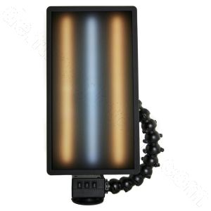 """PC LED 251 LED Dewalt Charged Ultra Vibrant Portable 20"""" Light (No Battery or Charger) Warm Cool Warm Strips"""