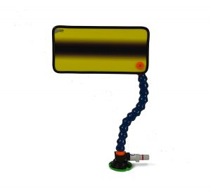 PC-102 Yellow Simple Fade Reflector Board, Stand and Suction Cup