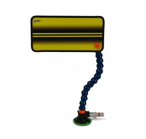 PC-24 Yellow Double Line Reflector Board, Stand and Suction Cup