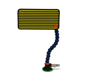 PC-108 Yellow Multi-Line Reflector Board, Stand and Suction Cup