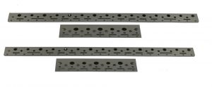 CT-6 PDR Tool Holder Brackets (4 per set) that attach to the side of CT-5 cart (Brackets Only)