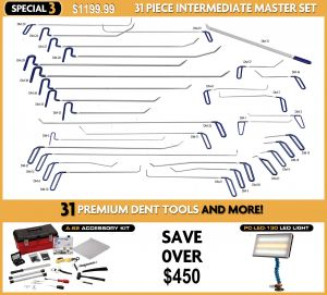 Special #3 31 Piece Intermediate PDR Tool Set