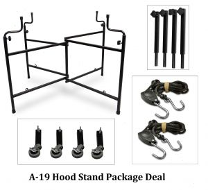 A-19  Hood Stand Package Deal