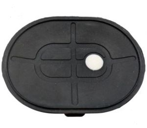 """HG-23 4""""X 3"""" OVAL SUCTION CUP REPLACEMENT RUBBER BASE PAD 1PC"""