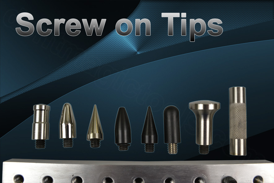 Screw on tips