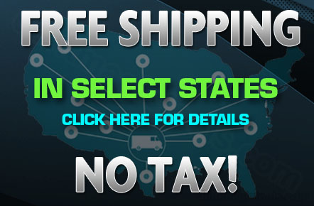 Free Shipping and No Tax in select States.